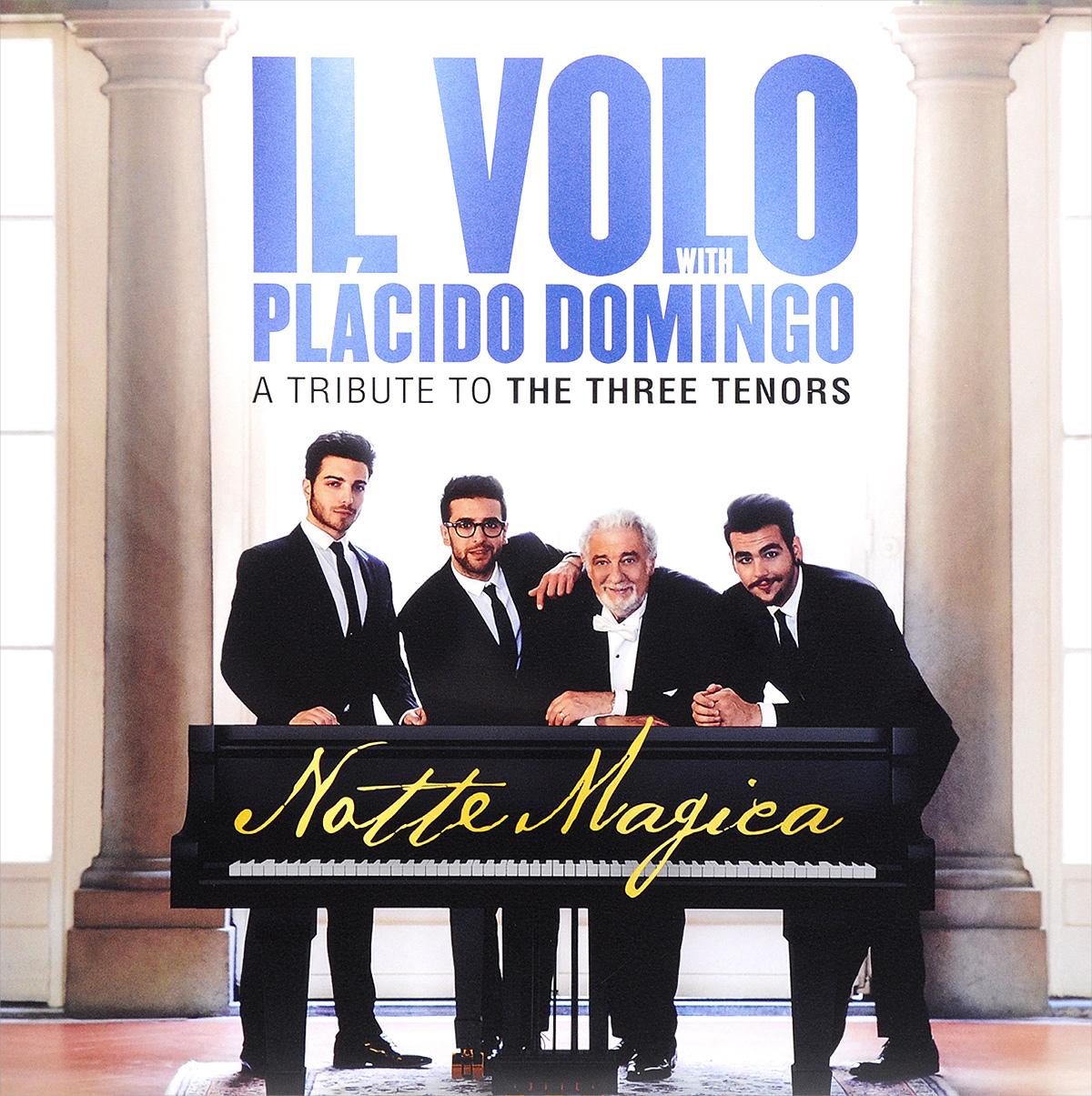 Il Volo,Пласидо Доминго Il Volo With Placido Domingo. Notte Magica. A Tribute To The Three Tenors (2 LP) il volo passariano