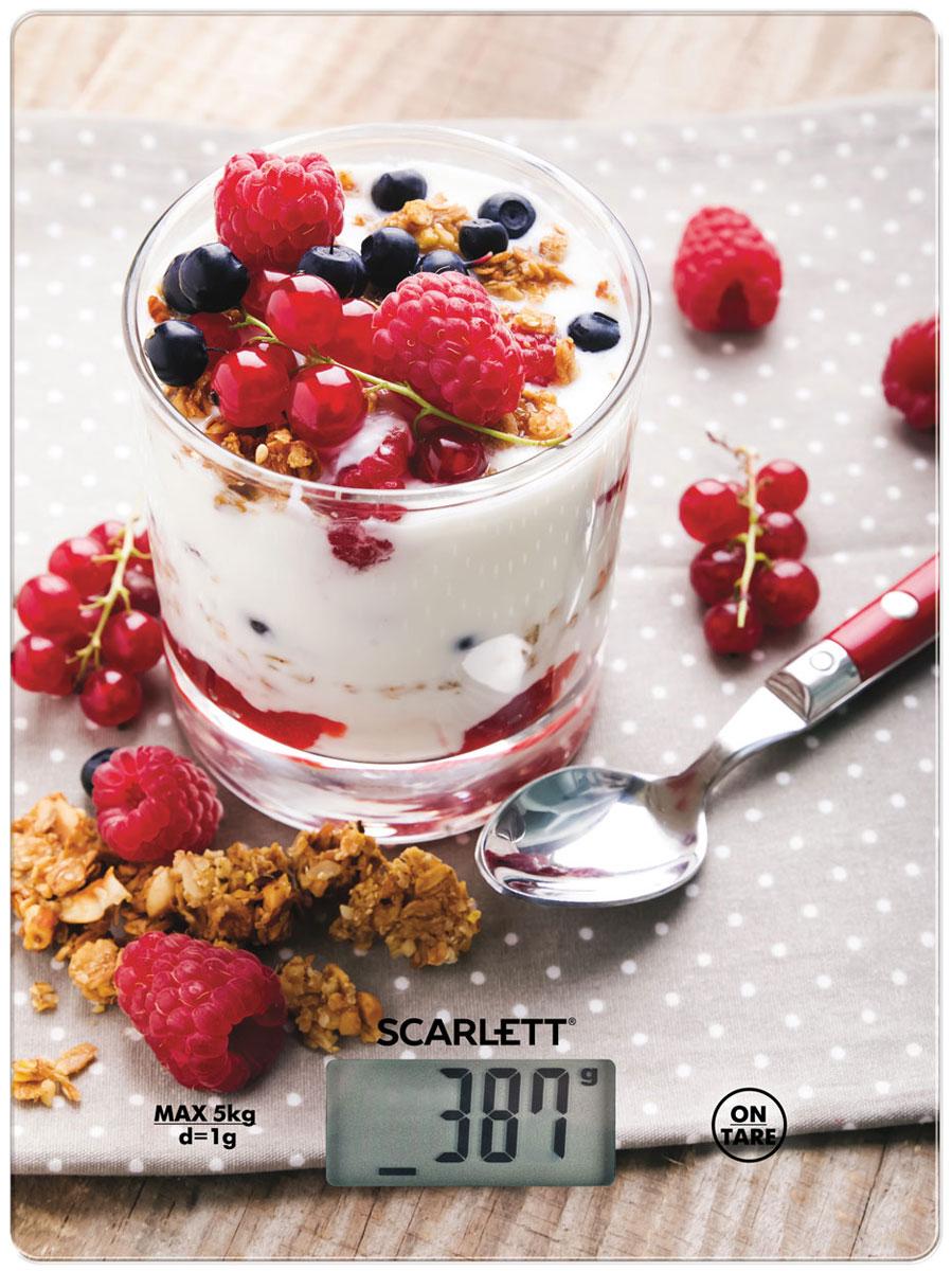 Кухонные весы Scarlett SC-KS57P22 Healthy Breakfast весы scarlett sc bs33e064