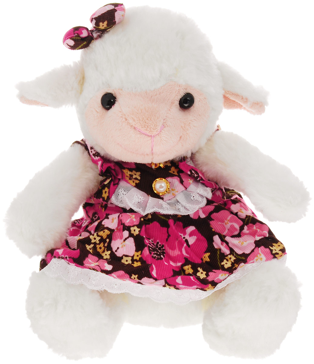 Magic Bear Toys Мягкая игрушка Овечка девочка 23 см