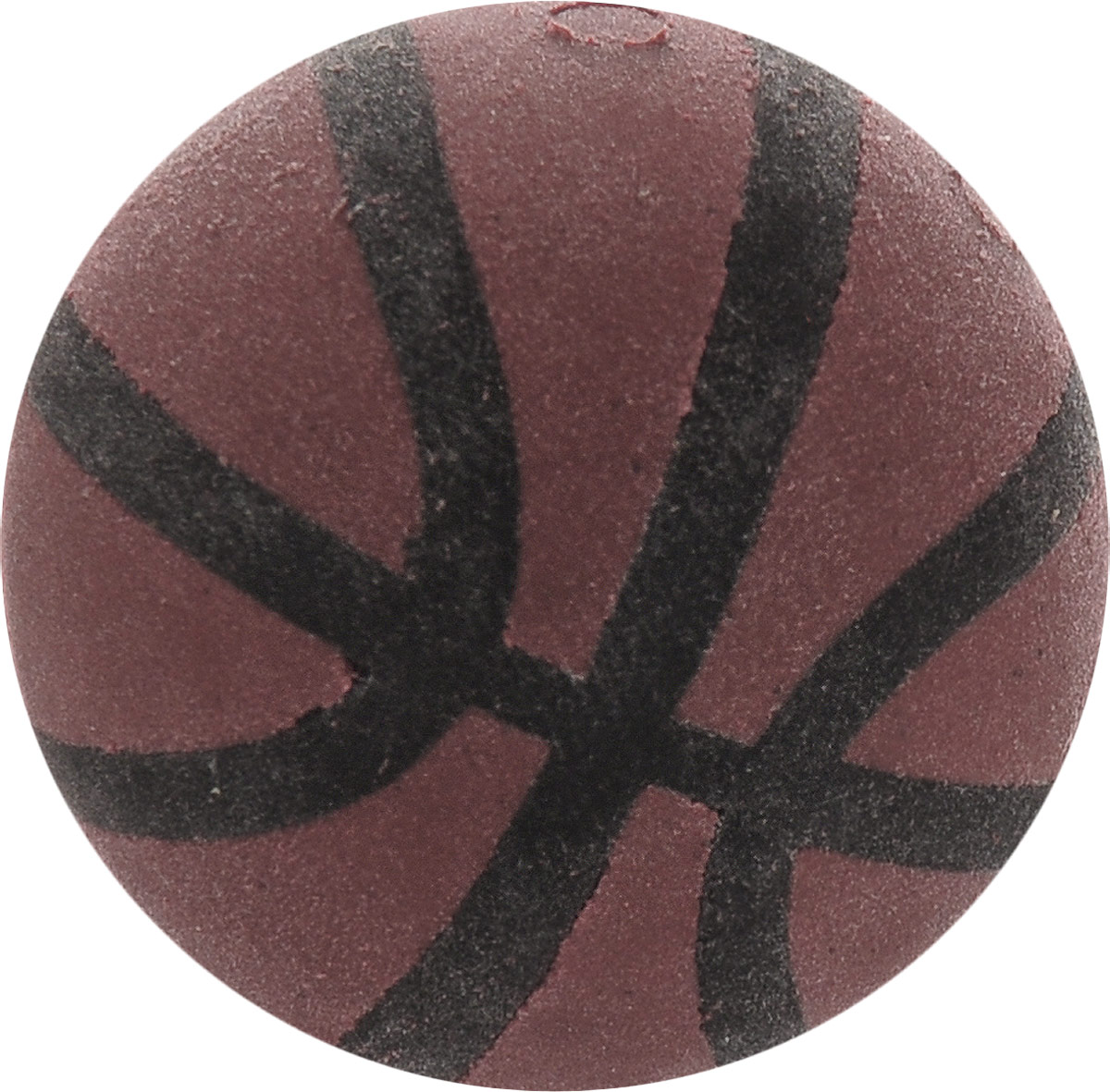 Brunnen Ластик Мяч баскетбольный цвет коричневый brunnen ластик машинка
