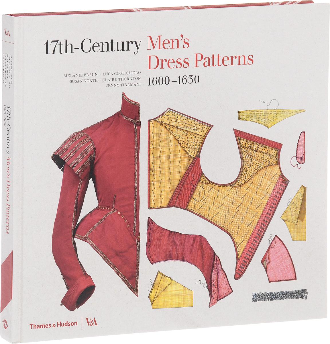 17th-Century Men's Dress Patterns: 1600-1630 dress to the floor color beige