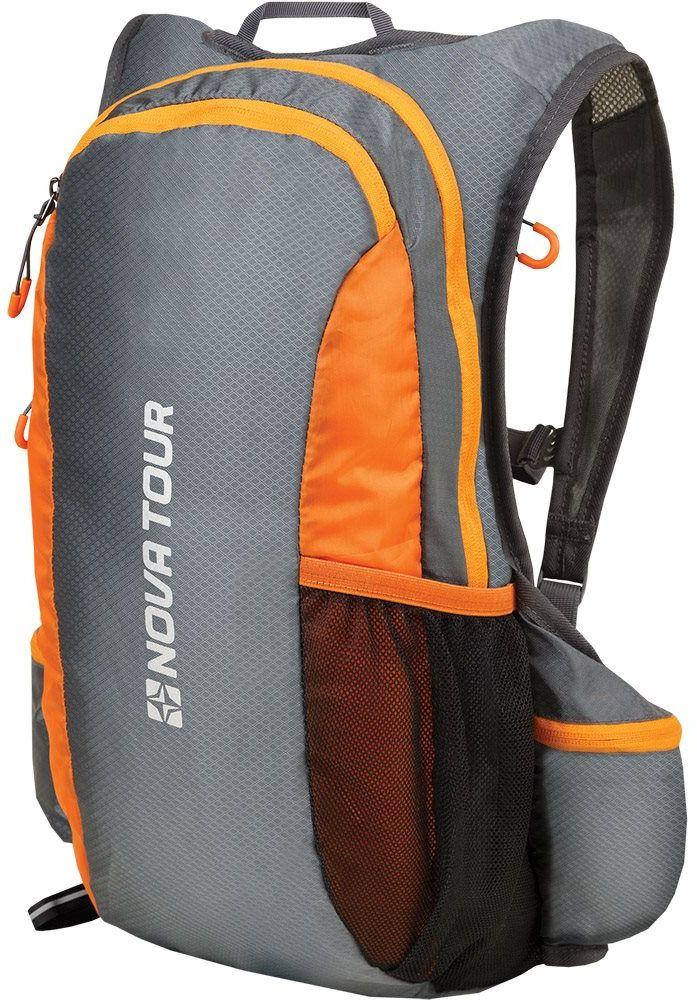 Рюкзак спортивный Nova Tour Фотон, 20 л, цвет: серый рюкзак спортивный adidas цвет черный cf9007