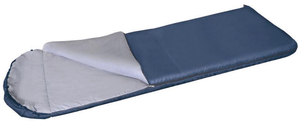 Мешок спальный Greenell Корк +4, цвет: синий, правая молния спальный мешок greenell антрим правосторонняя молния цвет зеленый