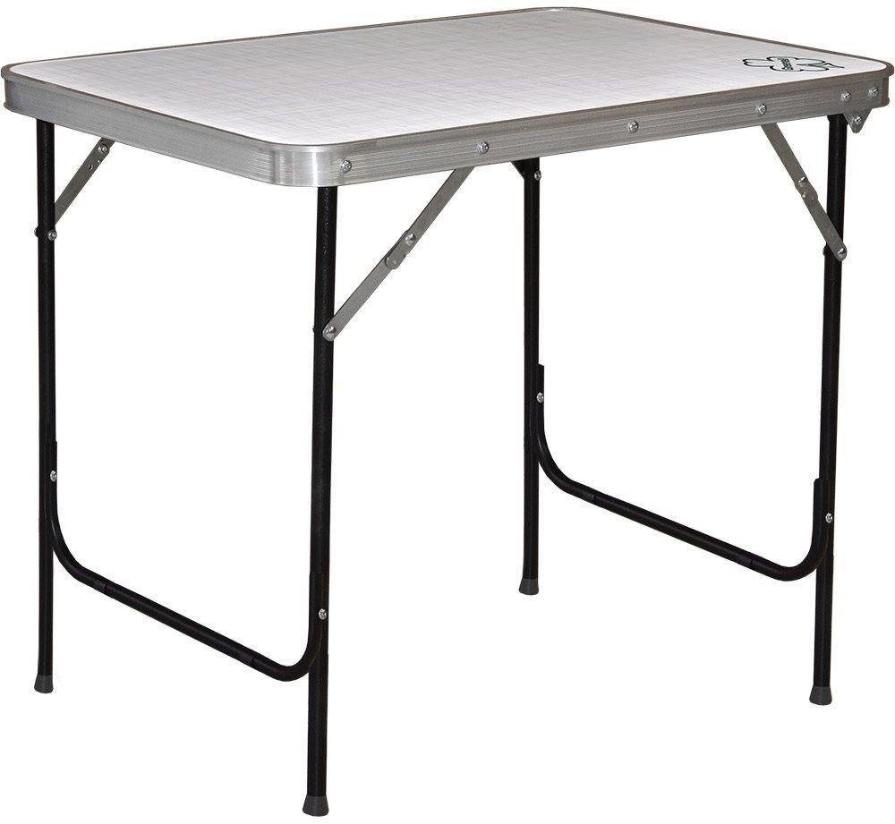 Стол складной Greenell FT-13 R22, цвет: серый, 30 кг палатка greenell виржиния 6 плюс green