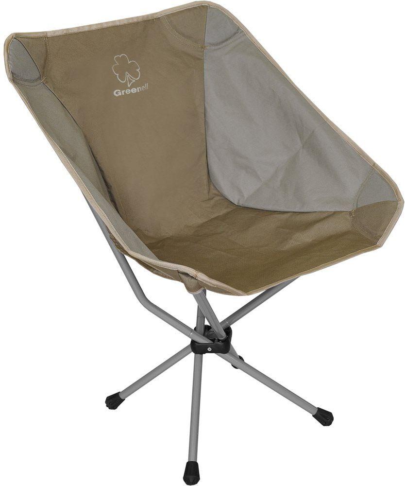 Фото - Стул складной Greenell Эйр FC-22, цвет: коричневый, 53 х 47 х 70 см стул greenwood fc 02 blue