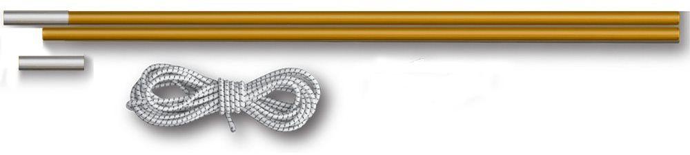 Комплект для дуг фиберглас Greenell V2, цвет: желтый, диаметр 11 мм