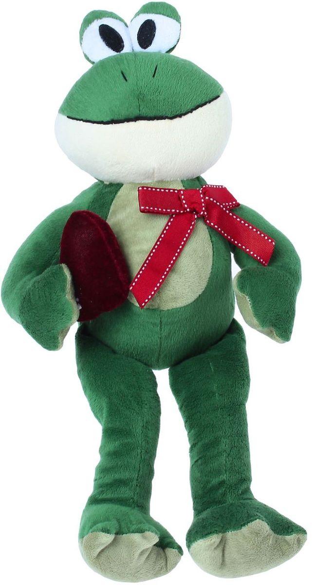 MaxiToys Мягкая игрушка Лягушонок Лила 27 см цена