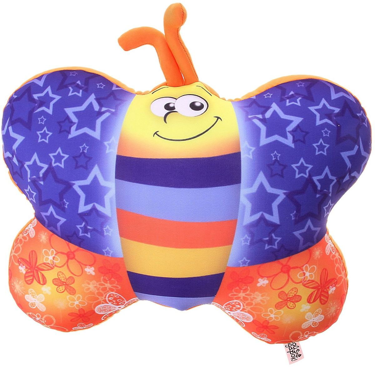 Sima-land Мягкая игрушка-антистресс Бабочка 330463 мягкая игрушка sima land овечка на присосках 18 см 332770
