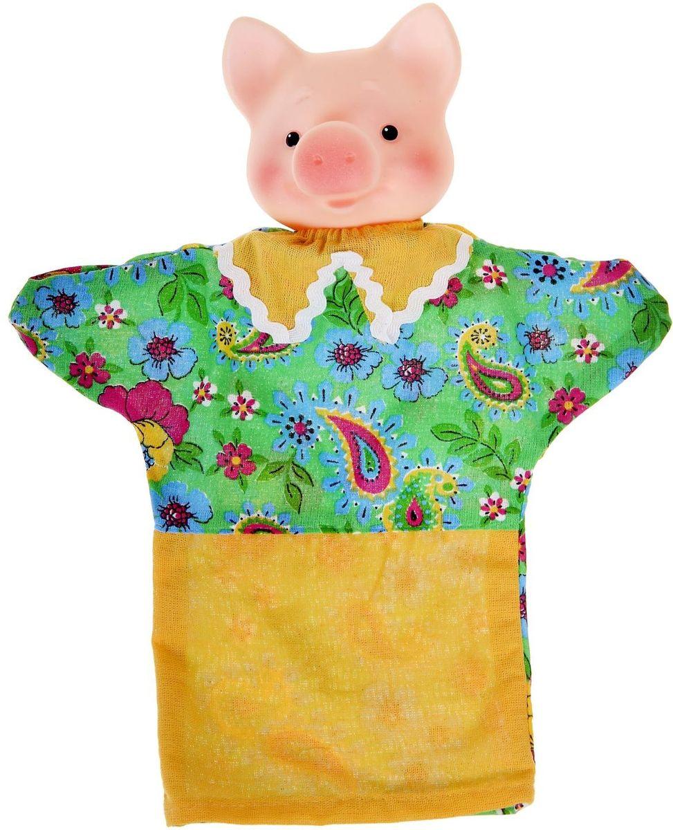 Фото - Sima-land Мягкая игрушка на руку Поросенок огонёк мягкая игрушка на руку коза