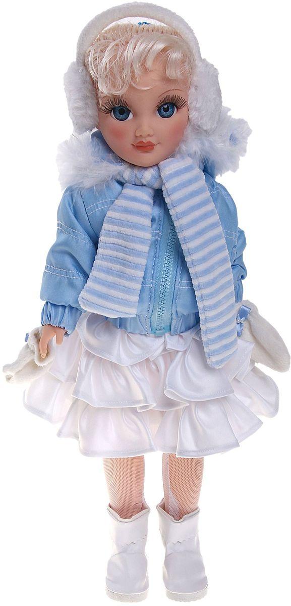 Весна Кукла озвученная Анастасия Зима 42 см 780842 весна весна кукла интерактивная милана 20 озвученная 70 см