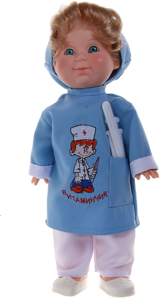 Весна Кукла озвученная Митя Доктор 34 см