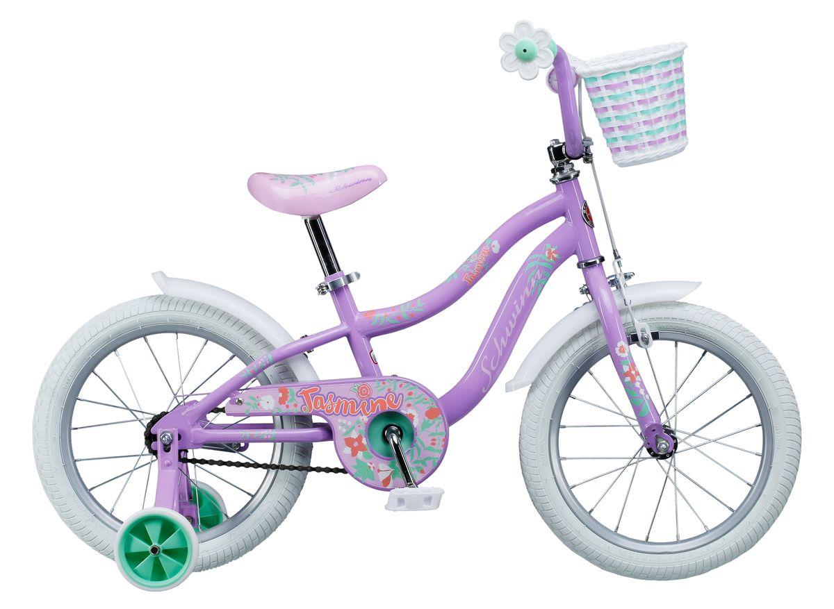 Велосипед детский Schwinn Jasmine, колесо 16, цвет: фиолетовый велосипед schwinn meridian 2018