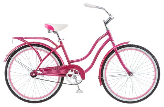 Велосипед городской Schwinn Baywood Girl, колеса 24, цвет: розовый