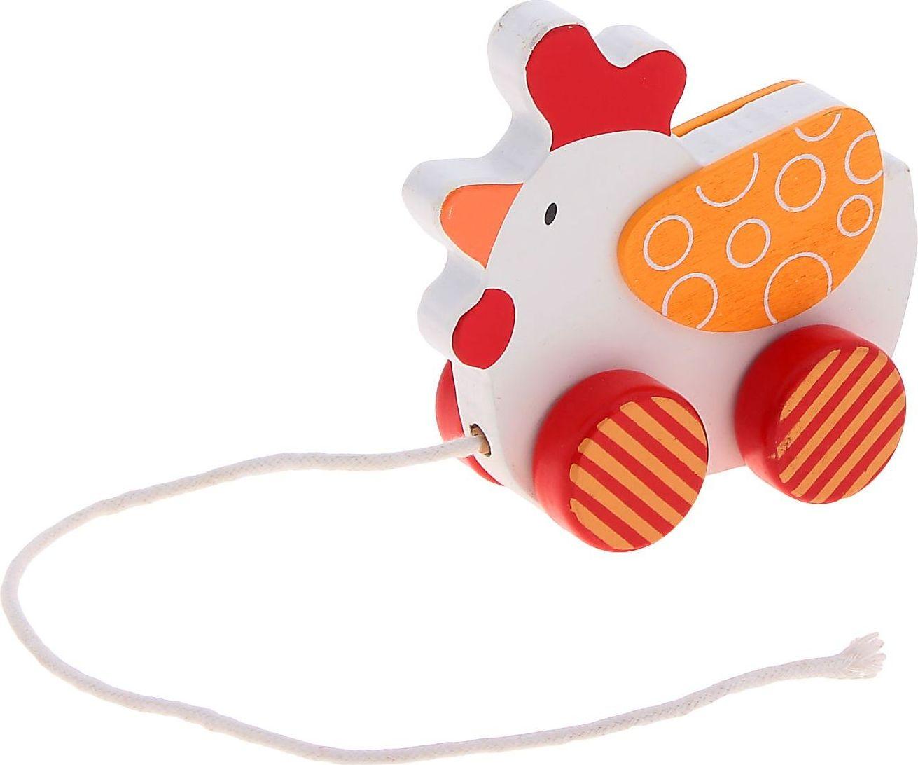 Игрушка-каталка Sima-land Петушок мягкая игрушка sima land овечка на присосках 18 см 332770