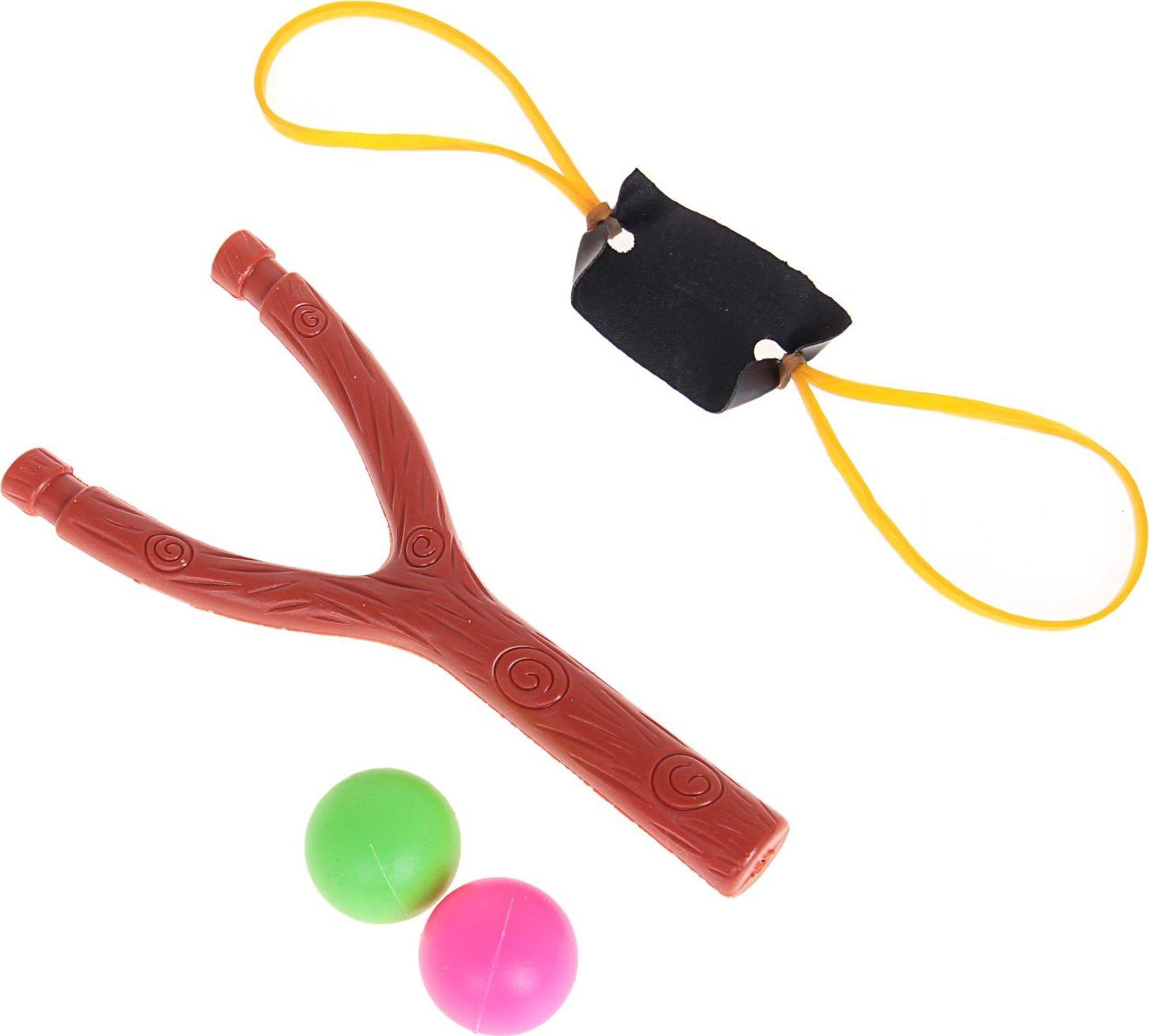 Рогатка-стрелялка Sima-land, с 2 шариками. 330685