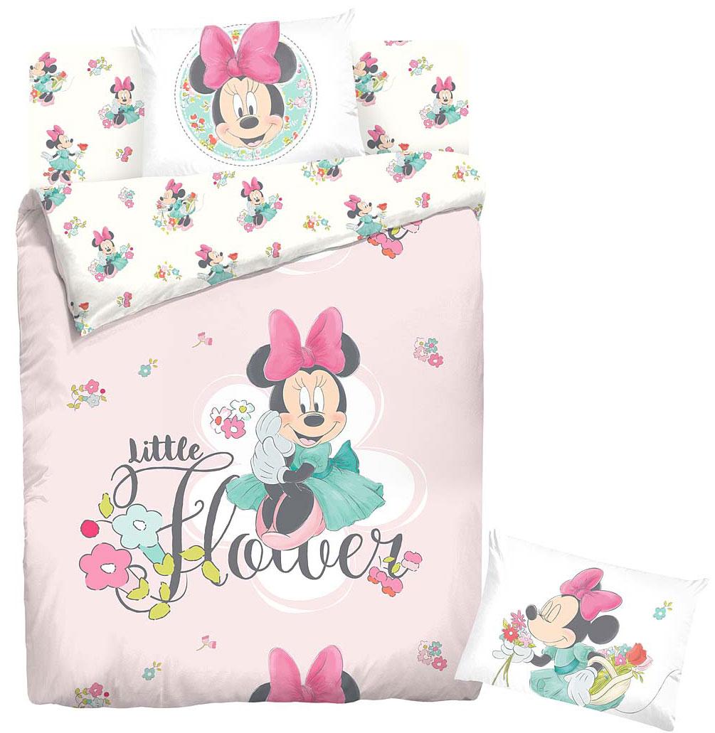 цена Комплект белья Disney