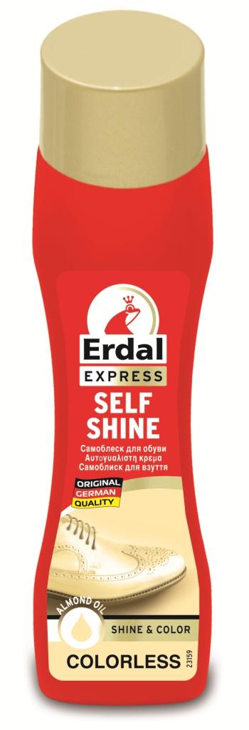 Самоблеск для обуви Erdal, цвет: бесцветный, 75 мл краска для кожи erdal