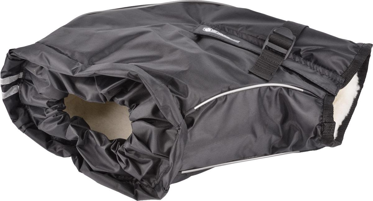 Муфта на руль Starks Warm 35, цвет: черный. ЛЦ0034. Размер S/M