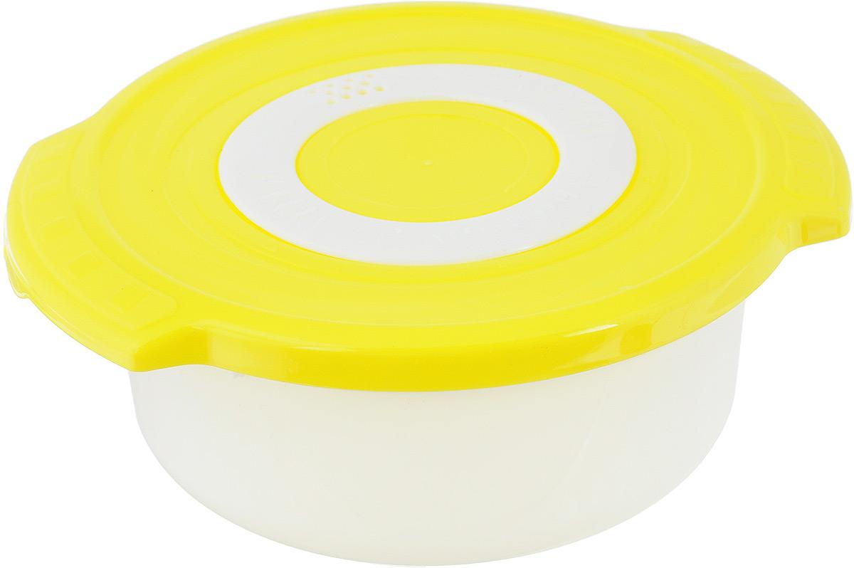 Кастрюля для СВЧ Plastic Centre Galaxy, цвет в ассортименте, 0,9 л крышка для свч plastic centre galaxy 25 см с подставкой