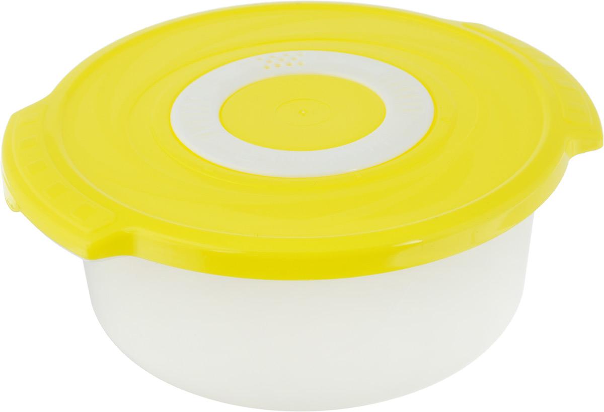 Кастрюля для СВЧ Plastic Centre Galaxy, цвет в ассортименте, 1,4 л крышка для свч plastic centre galaxy 25 см с подставкой