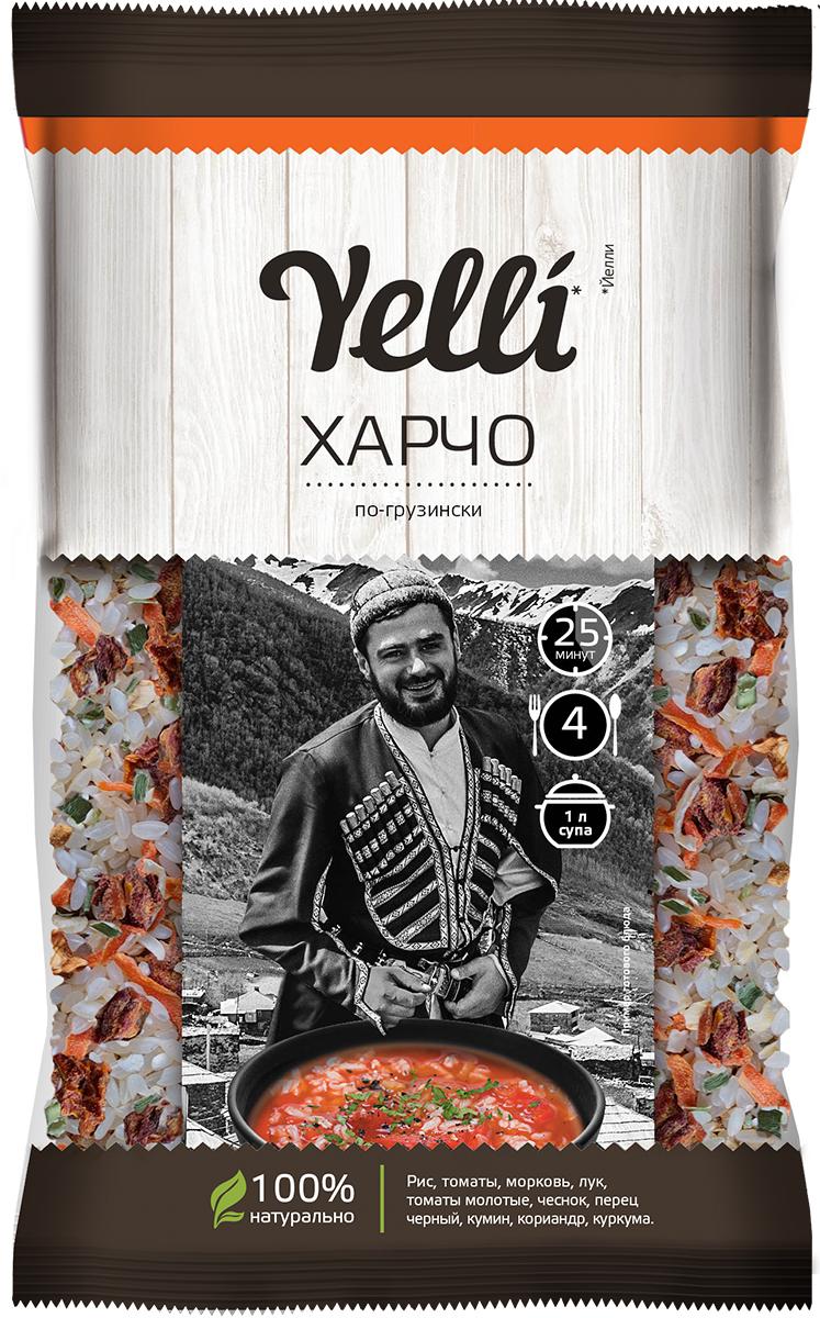 Yelli харчо по-грузински, 100 г yelli суп yelli чечевичный масурдал 250г