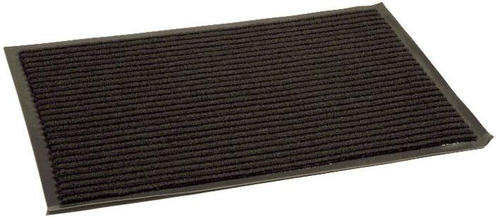 Коврик придверный InLoran Стандарт, влаговпитывающий, ребристый, цвет: черный, 50 х 80 см10-586/20201Коврик придверный InLoran выполнен из винила и полиамида. Изделие имеет иглопробивной ворс, который эффективно удерживает грязь и влагу (на 1 квадратный метр до 5 кг). Такой коврик надежно защитит помещение от уличной пыли и грязи. Легко чистится и моется. Рекомендуем!
