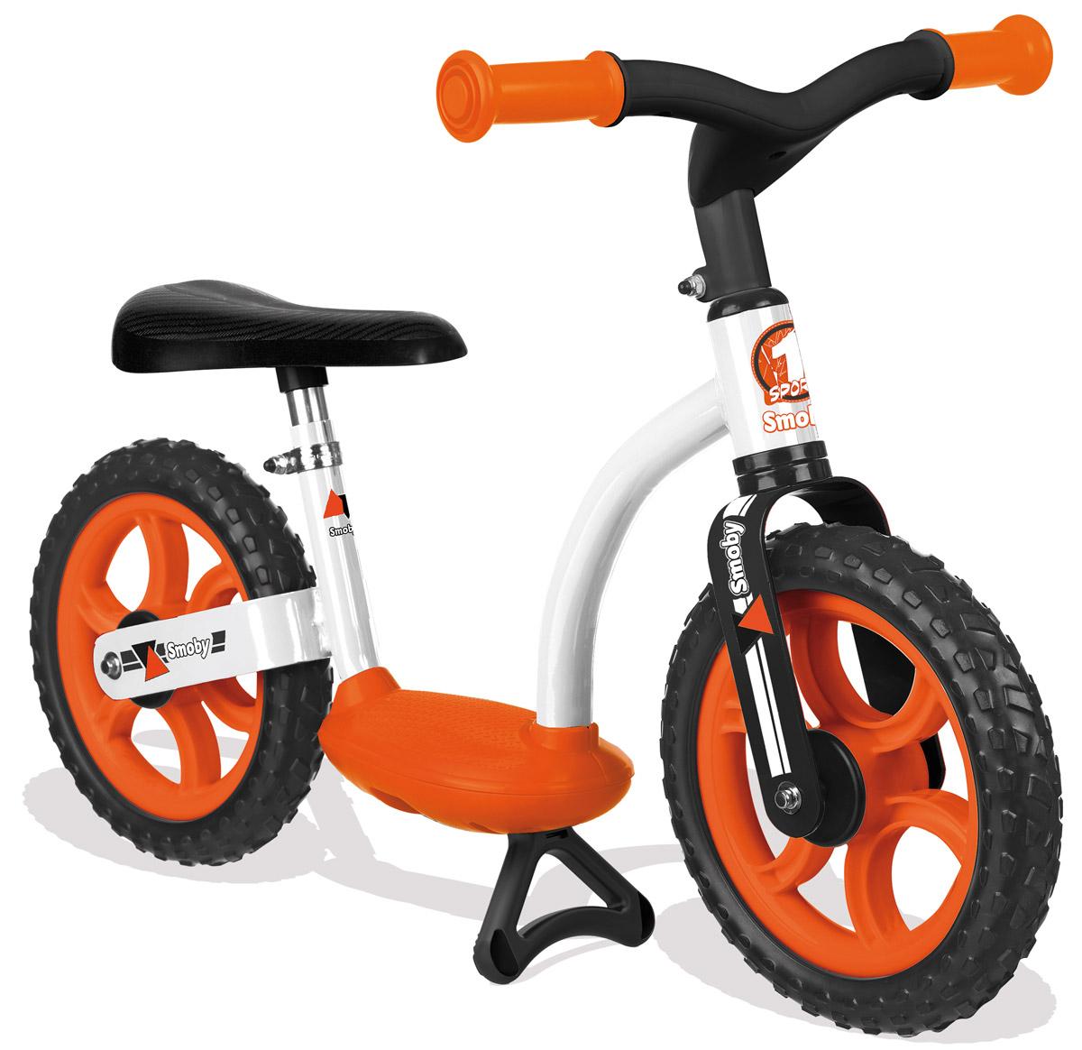 цена на Smoby Беговел детский цвет белый оранжевый