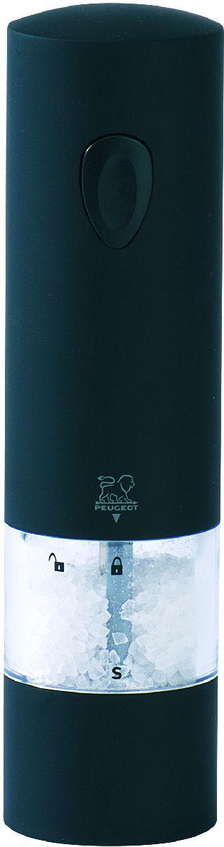 Фото - Мельница для соли Peugeot Onyx, электрическая, высота 20 см peugeot набор мельниц для соли и перца электрических на подставке 2 27162 peugeot