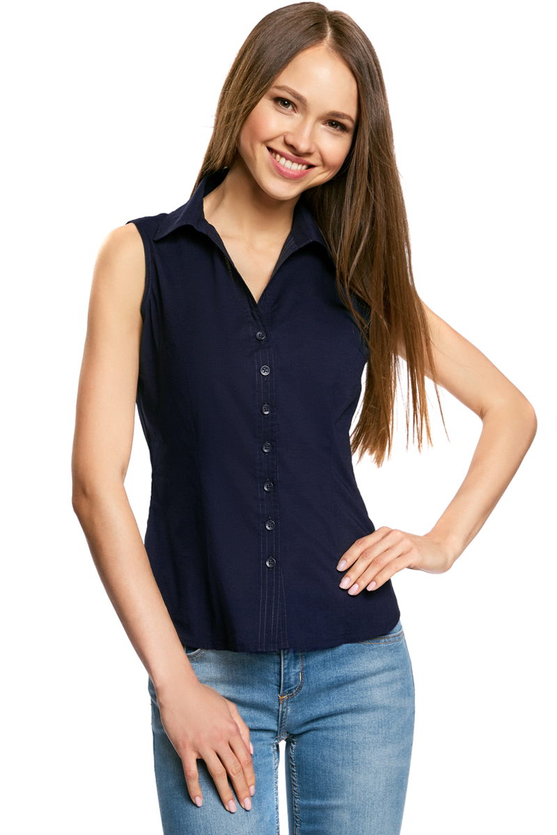 Рубашка oodji рубашка женская oodji ultra цвет темно зеленый белый графика 11403222b 42468 6910g размер 44 50 170
