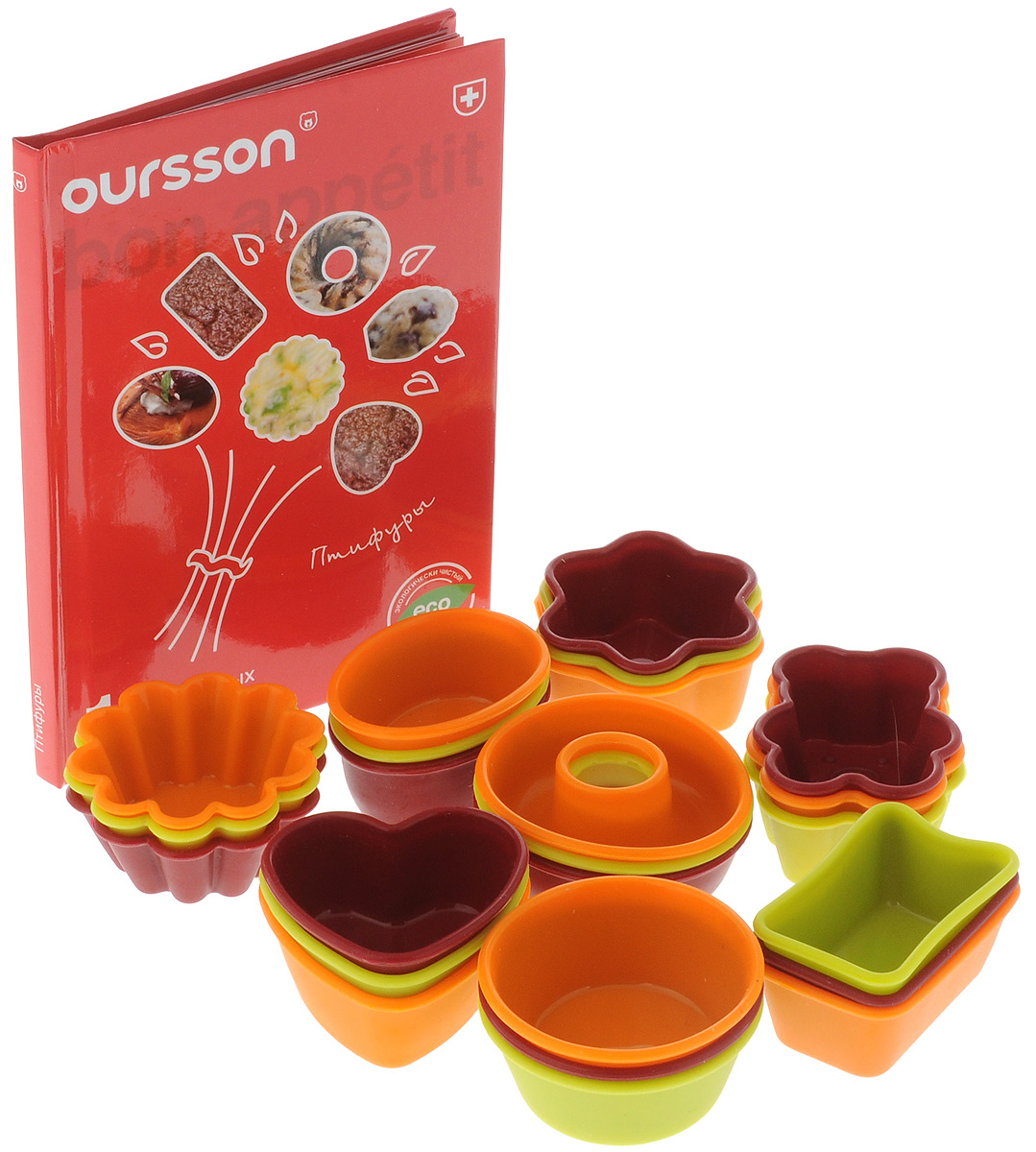 Набор для выпечки Oursson, 25 предметов набор для выпечки oursson silicone bw3150ss mc