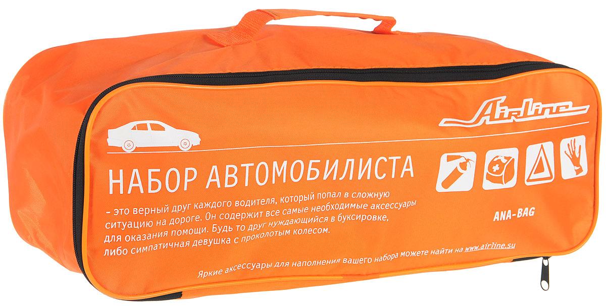 Сумка для набора автомобилиста Airline, 45 х 15 х 15 см сумка холодильник термосумка 20л airline ao cb 03