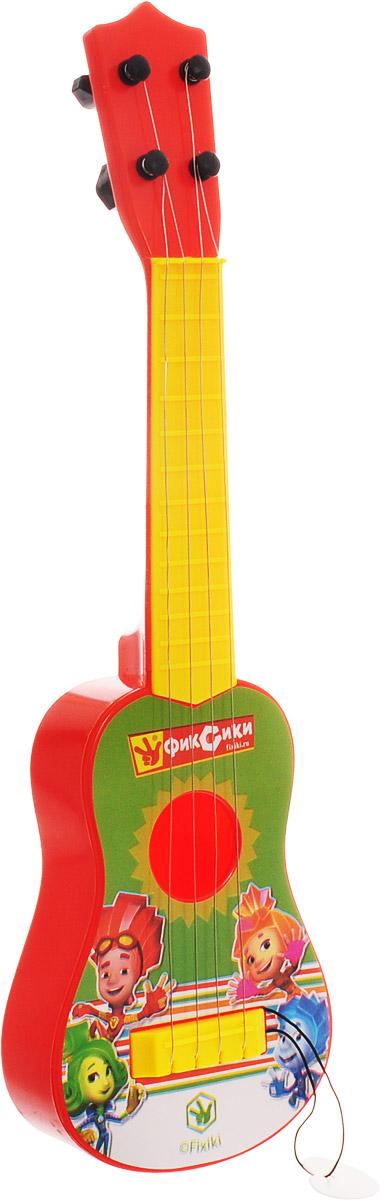 Играем вместе Гитара Фиксики гитара игрушечная росмэн с медиатором вспыш