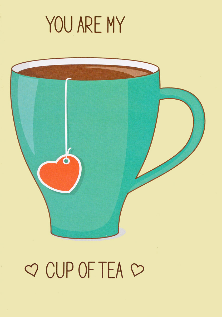 You are my cup of tea (green cup) цена
