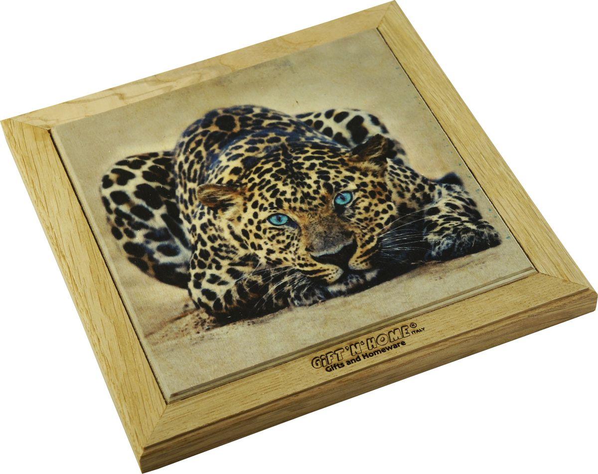 Подставка под горячее Gift'n'home Леопард, 20 х 20 см тряпки чистящие bagi 20 х 20 см