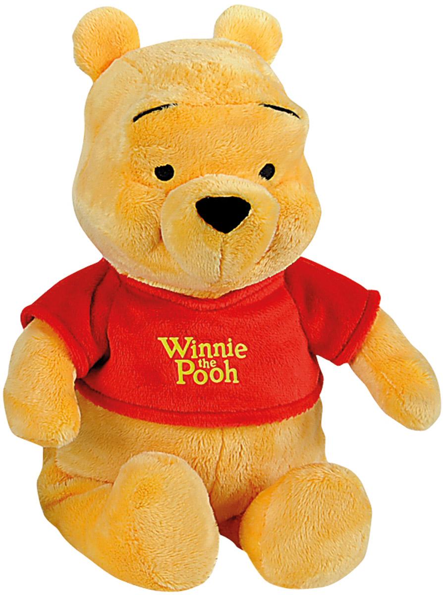 Nicotoy Мягкая игрушка Медвежонок Винни 35 см