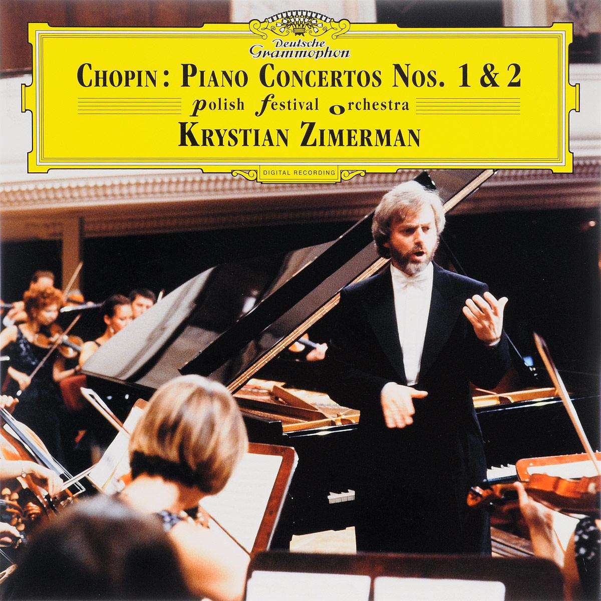 лучшая цена Кристиан Цимерман,Polish Festival Orchestra Krystian Zimerman. Chopin. Piano Concertos Nos. 1 & 2 (2 LP)