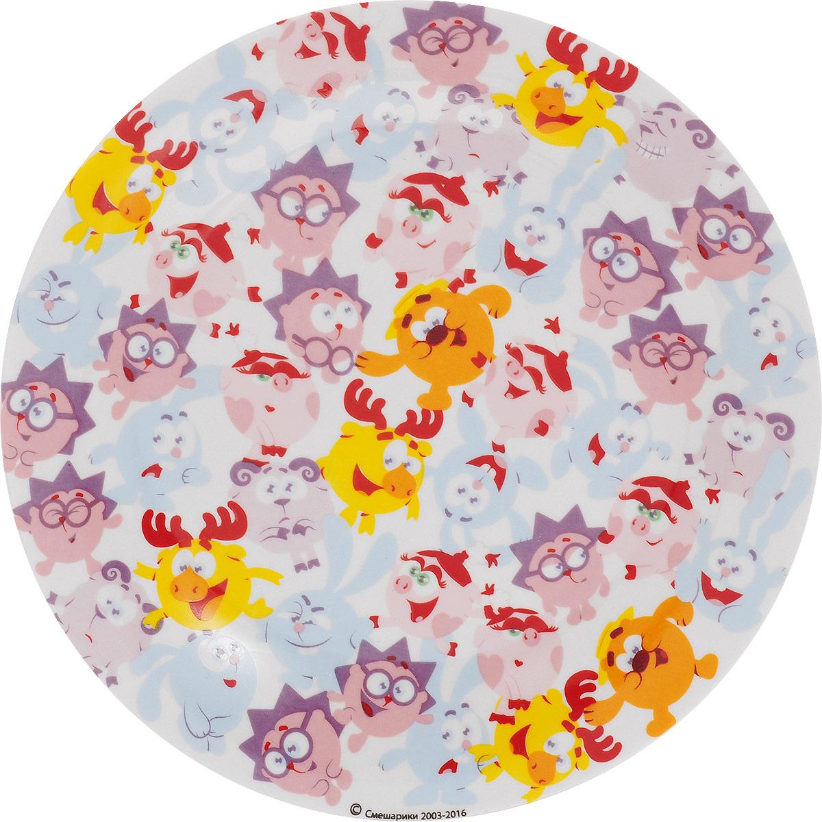 Смешарики Тарелка детская Бум диаметр 19 см смешарики тарелка детская конфеты диаметр 19 5 см