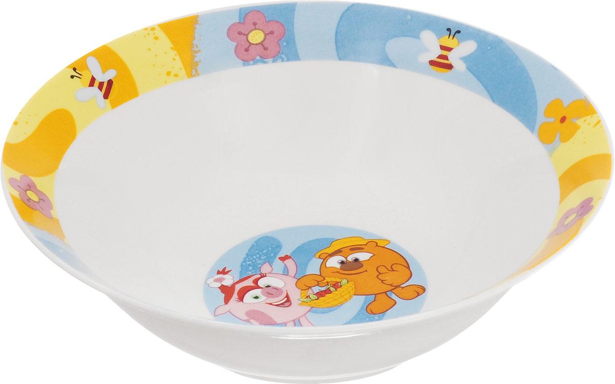 купить Смешарики Миска детская Друзья диаметр 18 см по цене 174 рублей