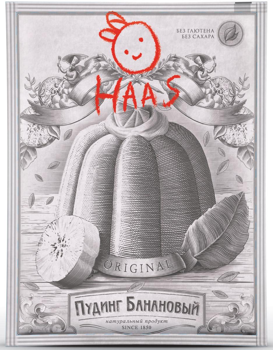 Haas Пудинг банановый, 40 г haas пудинг банановый 40 г