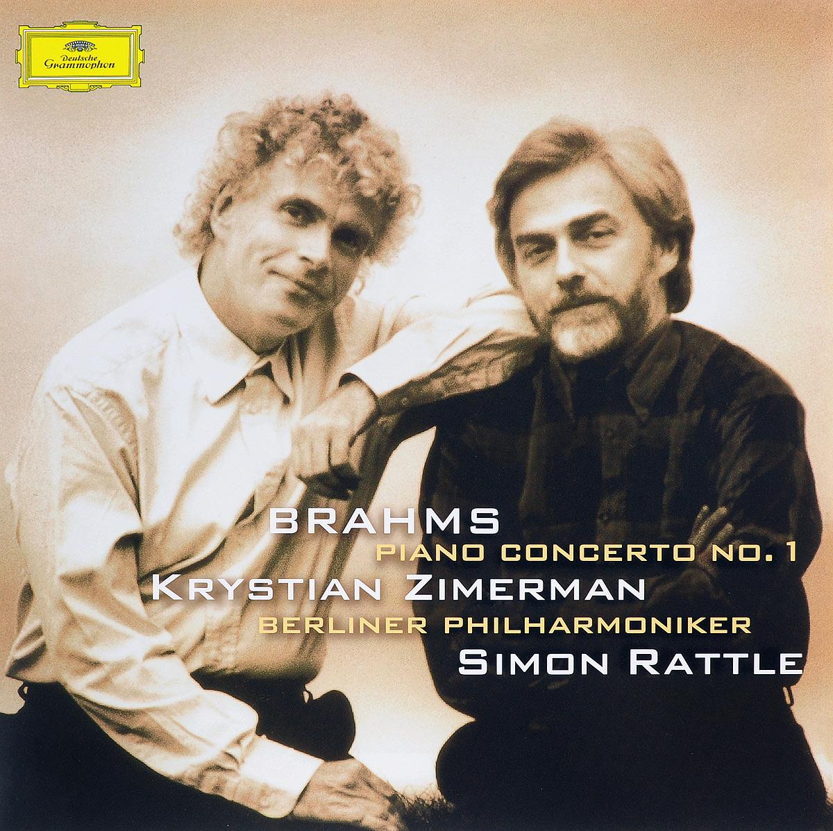 лучшая цена Кристиан Цимерман,Berliner Philharmoniker,Саймон Рэттл Krystian Zimerman. Brahms. Piano Concerto No. 1 (LP)