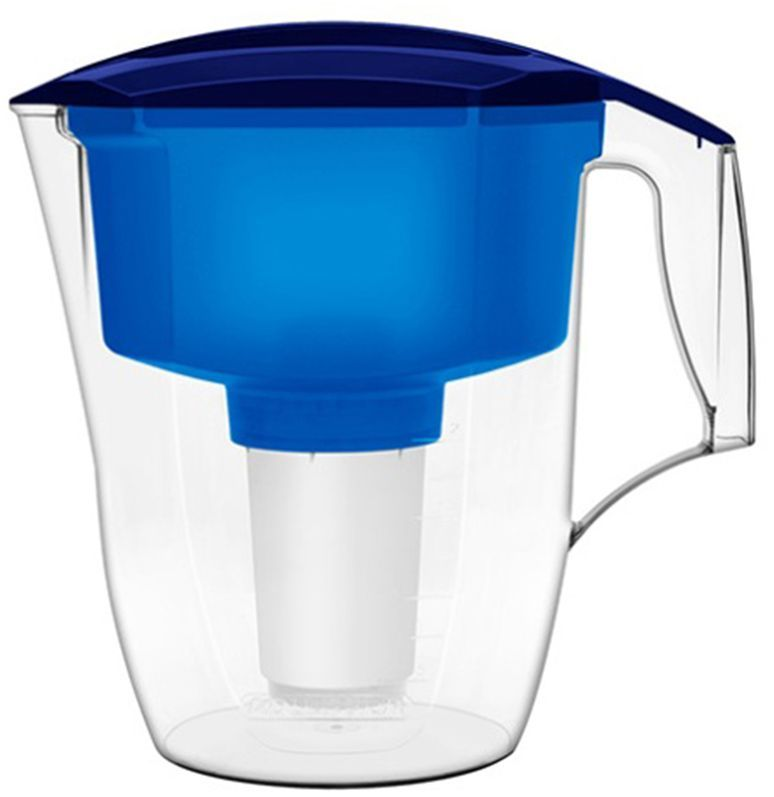Фильтр-кувшин для воды Аквафор Кантри, цвет: синий, прозрачный, 3,9 л модуль сменный мембранный аквафор к 100 ко 100 100 к