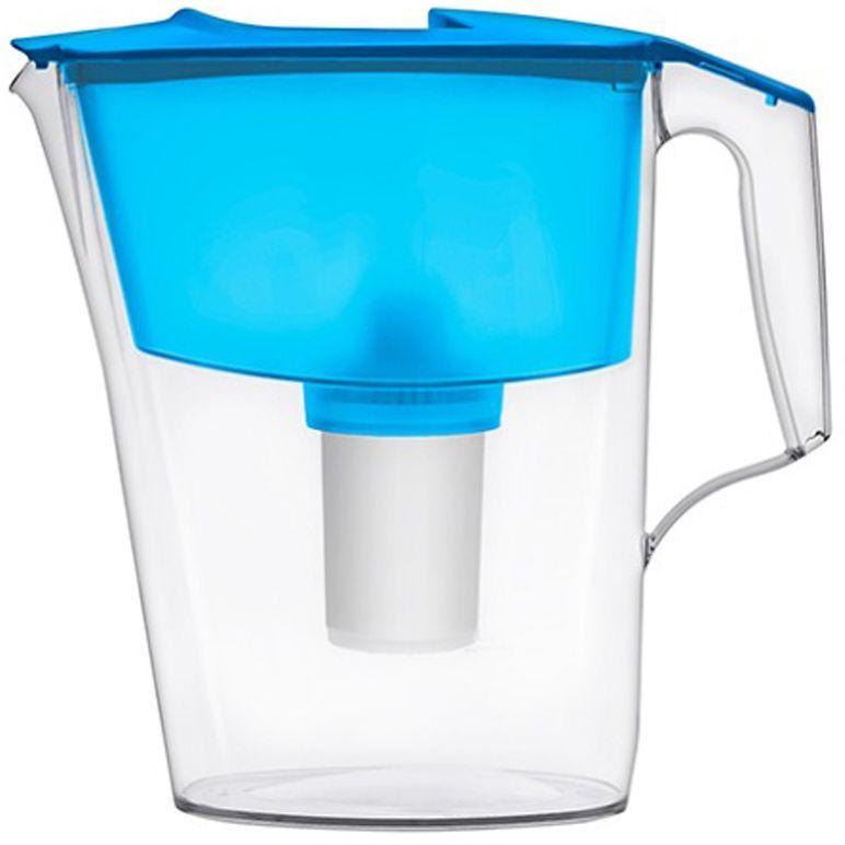 Фильтр-кувшин для воды Аквафор Стандарт, цвет: голубой, прозрачный, 2,5 л модуль сменный мембранный аквафор к 100 ко 100 100 к