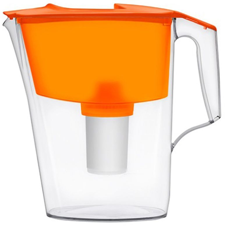 Фильтр-кувшин для воды Аквафор Стандарт, цвет: оранжевый, прозрачный, 2,5 л модуль сменный мембранный аквафор к 100 ко 100 100 к