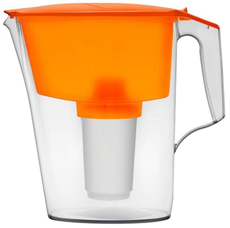 цена на Фильтр-кувшин для воды Аквафор Ультра, цвет: оранжевый, прозрачный, 2,5 л