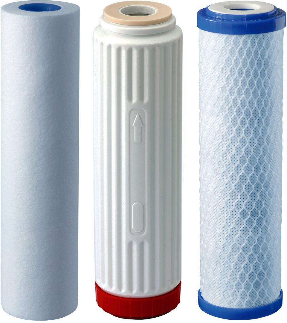 Комплект сменных модулей для фильтра Аквафор Трио. Норма, для жесткой воды комплект сменных модулей аквафор в200