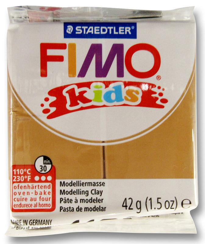 Fimo KidsПолимерная глина цвет светло-коричневый Fimo Kids