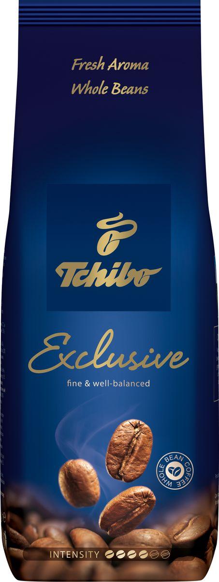 Tchibo Exclusive кофе в зернах, 250 г кофе tchibo кофе в зернах davidoff cafe crema 500 g
