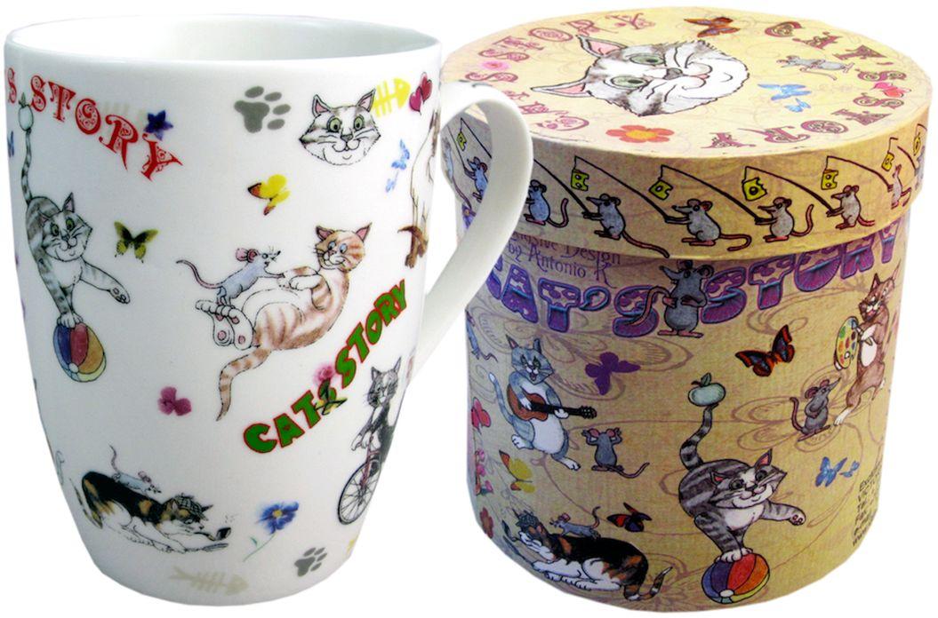 Кружка Gift'n'Home Кошки-мышки, 320 мл кружка классик кошки 300 мл