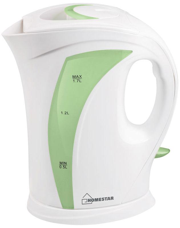 HomeStar HS-1006, White Greenэлектрический чайник HomeStar