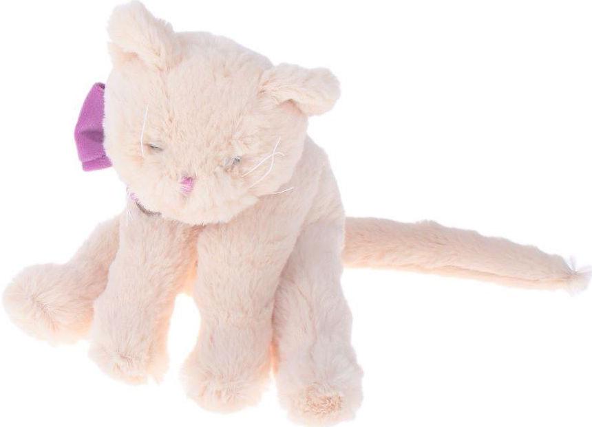 Lapkin Мягкая игрушка Кот Lapkin цвет бежевый фиолетовый 30 см